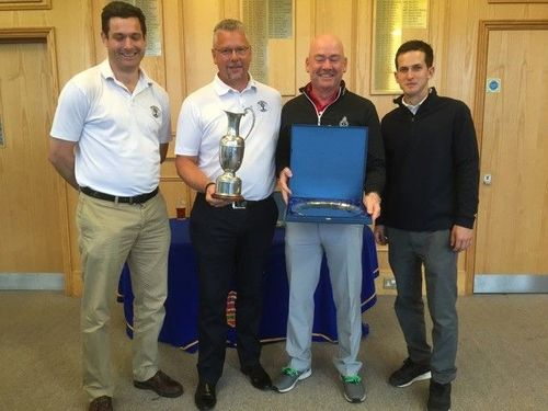 2016 President Foursomes Winners - West Middlesex GC
