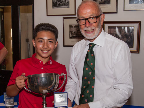 2016 Under 13 Champion - Ryan Georgiou